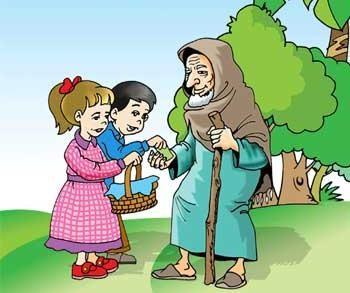 مساعدة الفقراء المساكين وكبار السن وإحترامهم كن رحيما 3 Islam Women Teach Arabic Fall Nail Colors