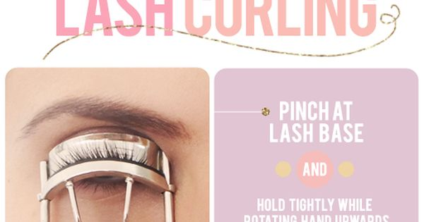 The secret to eyelash curling. This techinique is a game changer!