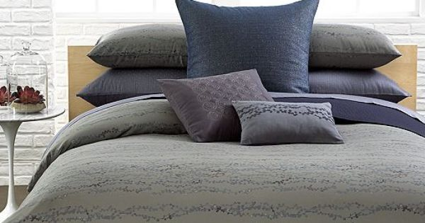 Calvin Klein Pacific Comforter And Duvet Sets Available At