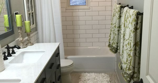 Upstairs Hallway Bathroom Brazilian White Pecan Floor 4