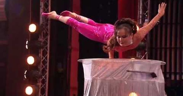 Britain S Got Talent Seaon 2 Iona The Contortionist Youtube