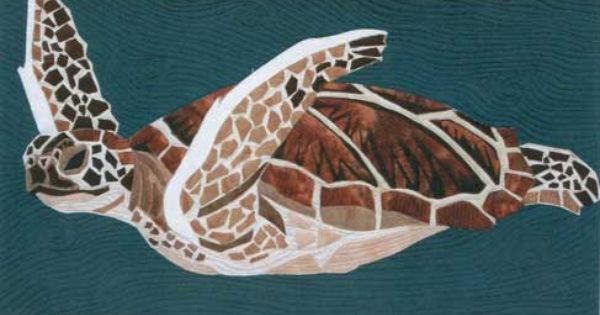 Sea Turtle Pattern Quilts Pinterest Discover Best