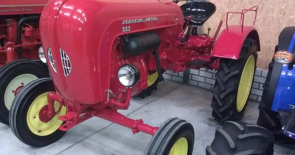 porsche 111 diesel tractor they must think it is worth as much as a porsche vintage car. Black Bedroom Furniture Sets. Home Design Ideas