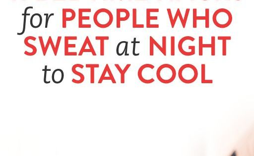how to stop sweating in the night
