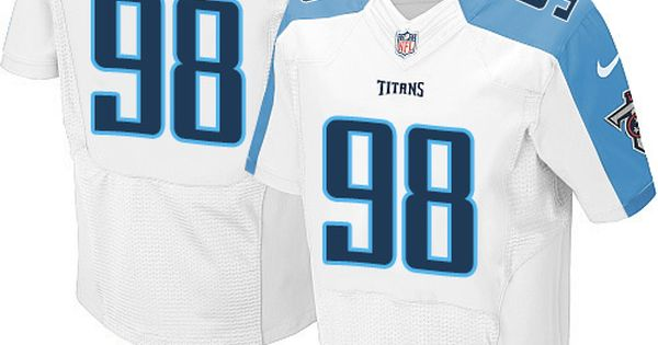 622835f3f ... Brian Orakpo Mens Elite White Jersey Nike NFL Tennessee Titans Road 98  Pinterest Nike