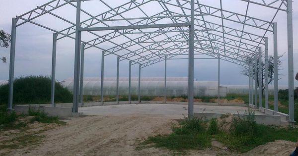 Hala Stalowa 15m Dach Konstrukcja Kratownica 7443577505 Oficjalne Archiwum Allegro Steel Beams Landmarks Building