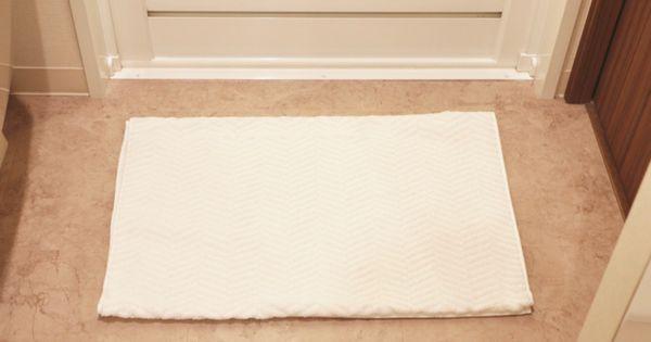 バスタオルをバスマットにするとラク おすすめの選び方3つのポイント 片づけ収納ドットコム バスマット 洗剤 収納 バスタオル 収納