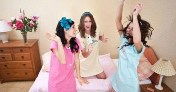 explore girls sleepover party