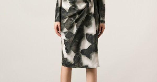 Lanvin butterfly print robe 7 fashion pinterest women s