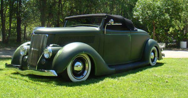 1936 Ford Roadster HotRod. Hotrod For SaleAntique CarsVintage ... & 443 best Ford images on Pinterest | Vintage cars Ford thunderbird ... markmcfarlin.com