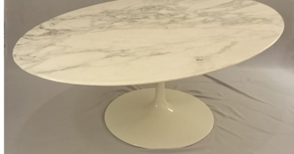 Table basse ovale knoll en marbre table basse pinterest tables basses o - Tables basses ovales ...