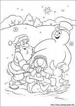 6d35352e3d8cb908c7e48d88dfc2eaf9 » Frosty The Snowman Coloring Book Clipart