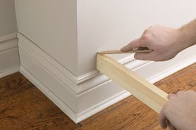 Create An Exaggerated Baseboard Home Depot Canada Baseboards Moldings And Trim Diy Home Improvement