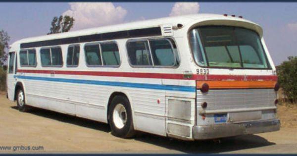 1965 Gmc Diesel Fishbowl New Look Bus Model Tdm5303 Gmc Diesel Gmc Accessories Gmc