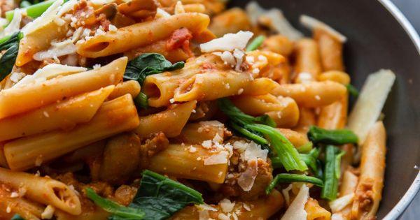 how to make spicy italian pasta sauce