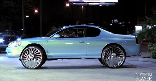 Cotton Candy Chevy Montecarlo On 30s Youtube Monte Carlo