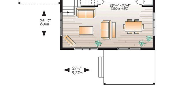 Modern house plan 1200 sq ft 2 bedrooms and 2 bathrooms for South cathedral mansions floor plans