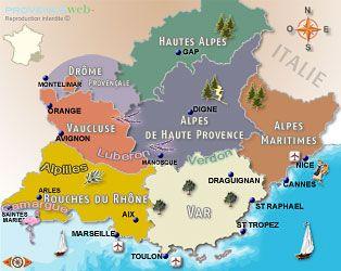 Provence Cote D Azur Le Sud De La France Provence France