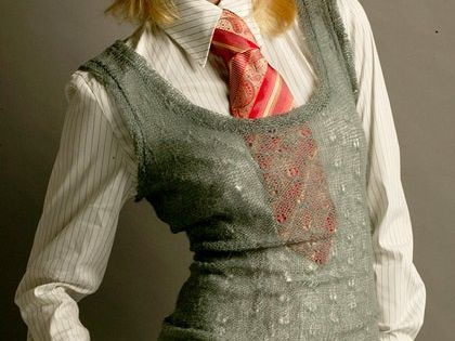 Cubicle Fashionista: Can women wear ties in the workplace?