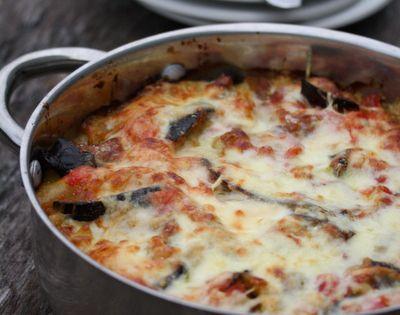 Eggplant lasagna, Lasagne and Eggplant zucchini on Pinterest