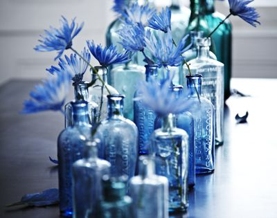 blue wedding idea