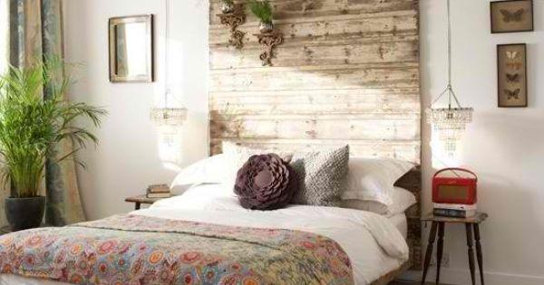 dyi head board | Diy Canopy Like Wooden Headboard | Shelterness