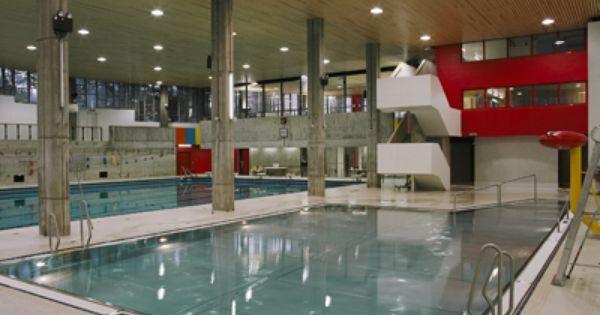 Rehabilitation De La Piscine Andre Wogensky 1969 Firminy 42