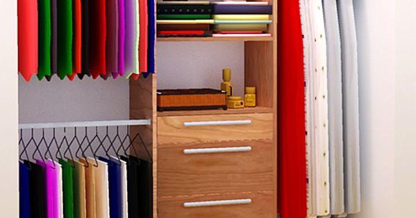 DIY Closet Organizer Plans For 5' to 8' Closet | Tom Builds