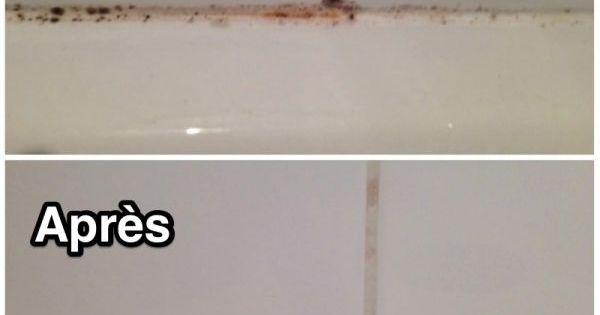 l 39 astuce qui marche pour enlever la moisissure des joints de carrelage comment et lampes. Black Bedroom Furniture Sets. Home Design Ideas