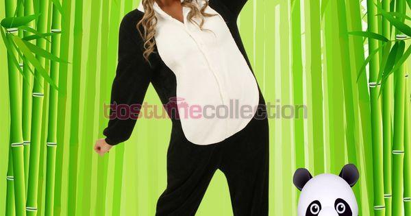 how to make a panda costume at home
