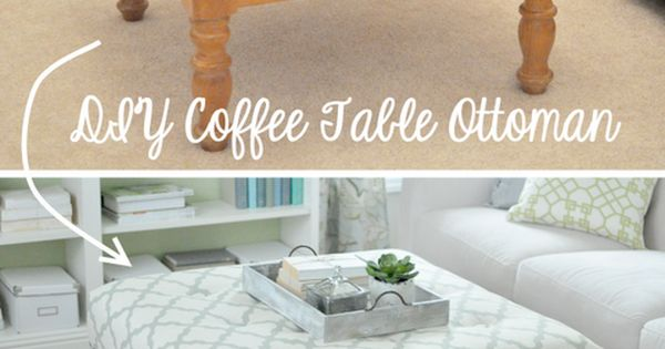 15 DIY Ideas You Must Try - DIY Upholstered Ottoman (I should
