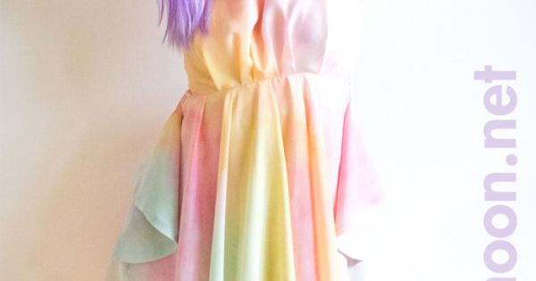 Tutorial dyeing fabric pastel ombre rainbow i ve been for Pastel galaxy fabric