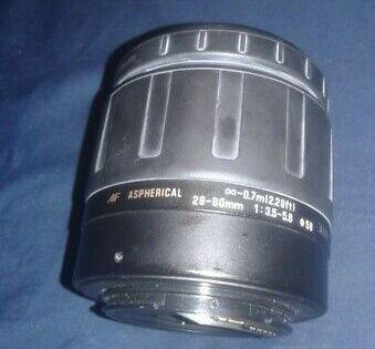 Vintage Tamron For Canon Af Aspherical 28 80mm 1 3 5 5 6 Camera Lenses Lenses Wide Angle Lens