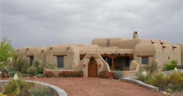 Pueblo style homes are sometimes made of traditional adobe for Adobe style manufactured homes