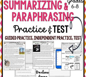Pin On Top Upper Elementary Teachers How To Paraphrase Chicago