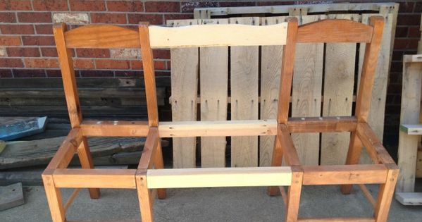 ... Knew Old Chairs Could Look so Good... | Old Chairs, Benches and Chairs