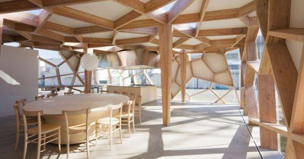Ja u remarkable japanese timber structures shinkenchiku sha 17 arch icecream pinterest - Japanese remarkable ...