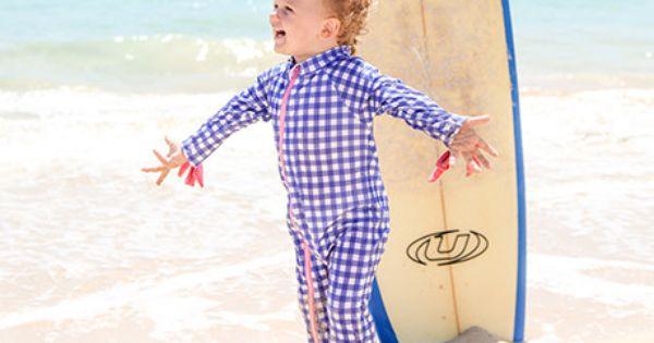 Close Pop-in Toddler Snug Suit 4 plus Years Old One Piece Swimsuit Zip Rash Guard Sun Protection Swimwear Wetsuit Hummingbird Print