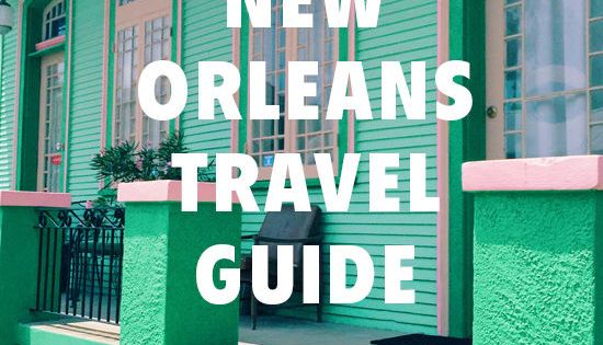NEW ORLEANS TRAVEL GUIDE- this is a great guide for cool places