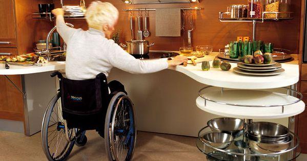 Des cuisines am nag es pour les personnes handicap es for Les cuisines amenagees