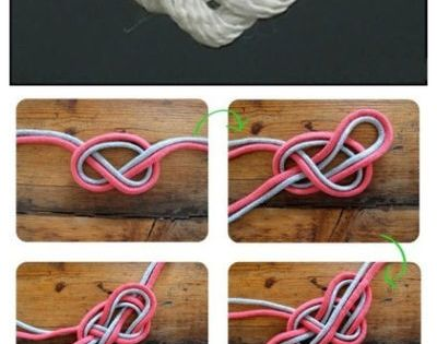 love knot...would be cute as the save the dates (tying the knot