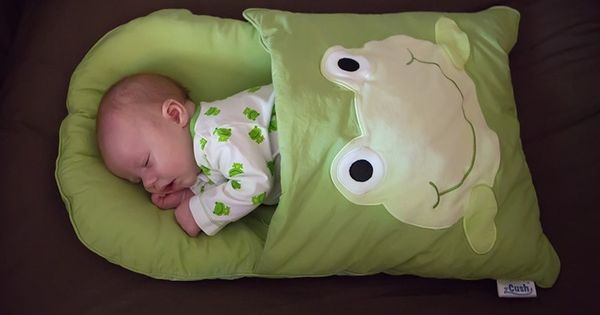 A pillow case remade...perfect for traveling and naps... baby sleeping bag