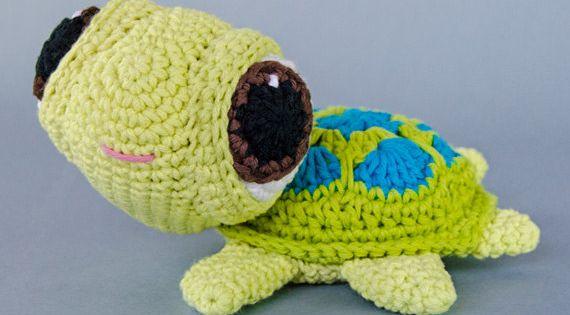 Bob the Turtle Amigurumi - PDF Crochet Pattern - Instant Download -