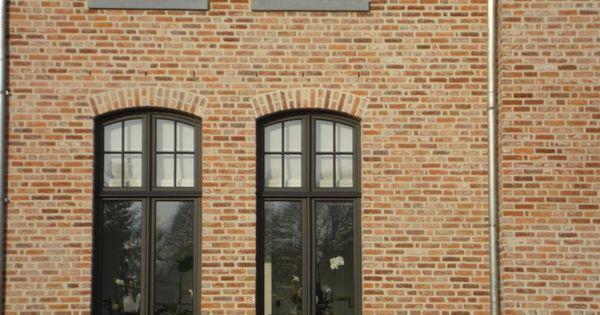 Oude beerse steen rijnvorm oude en verouderde bouwmaterialen exterieur pinterest gevel - Exterieur kleur eigentijds huis ...