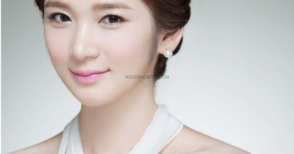 Musee Neuf in Korea Hair and Makeup Sample Korean Bridal ...