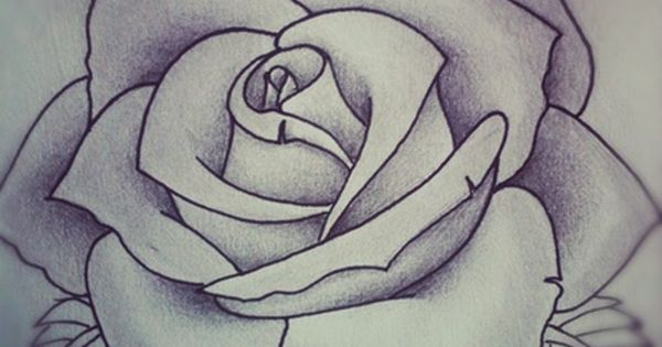 rose tattoo design by alyx wilson society6 things to wear pinterest rose tattoos and. Black Bedroom Furniture Sets. Home Design Ideas