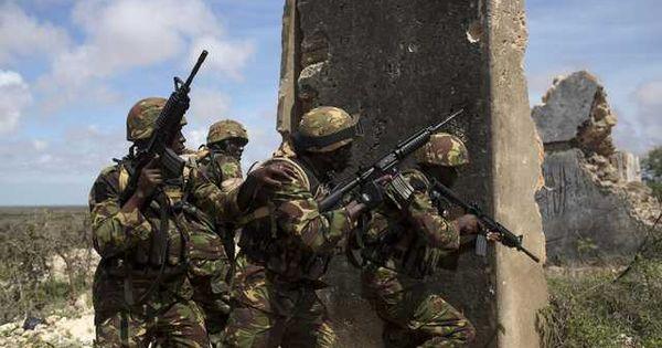 Military Kenyan Rangers In Somalia Military Heroes Somalia Kenyan