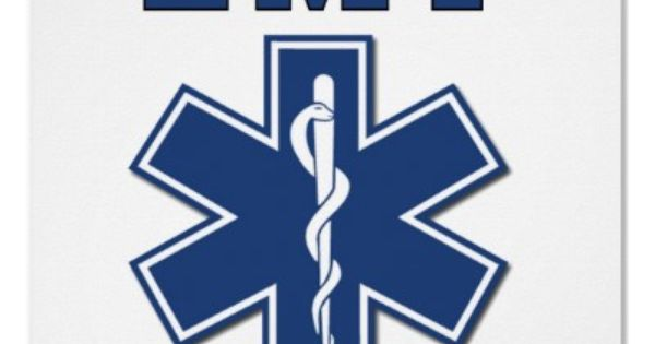 """Pink Star of Life 4/"""" Die Cut Reflective Emergency Medical EMT Decal with Border"""