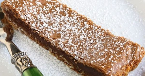 NUTELLA CRACK PIE The original recipe is from the whimsical and deliriously