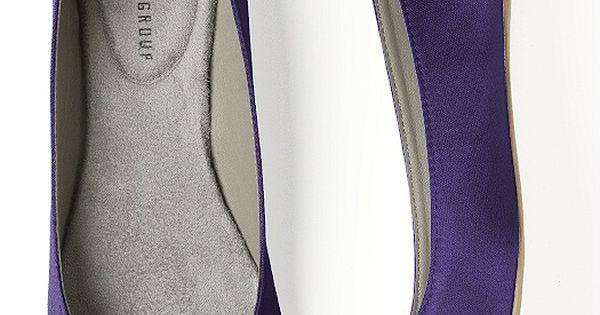 purple shoes, Dessy group